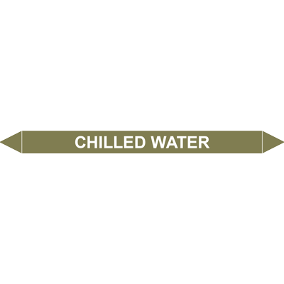CHILLED WATER European Pipe Marker