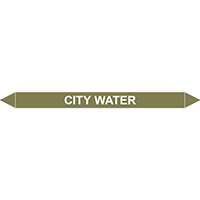 CITY WATER European Pipe Marker