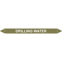 DRILLING WATER European Pipe Marker