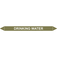 DRINKING WATER European Pipe Marker