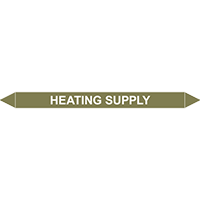 HEATING SUPPLY European Pipe Marker