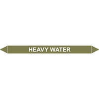 HEAVY WATER European Pipe Marker