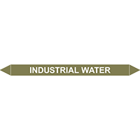 INDUSTRIAL WATER European Pipe Marker