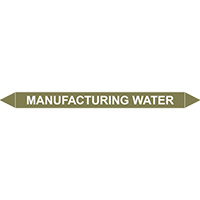 MANUFACTURING WATER European Pipe Marker