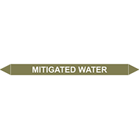 MITIGATED WATER European Pipe Marker