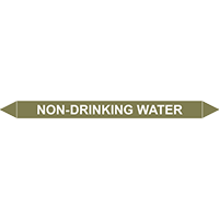 NON-DRINKING WATER European Pipe Marker