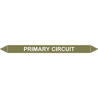PRIMARY CIRCUIT European Pipe Marker