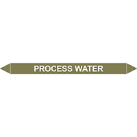 PROCESS WATER European Pipe Marker