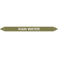 RAIN WATER European Pipe Marker