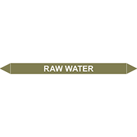 RAW WATER European Pipe Marker