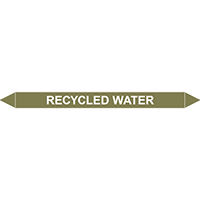 RECYCLED WATER European Pipe Marker