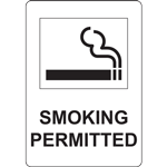 SMOKING PERMITTED SIGN