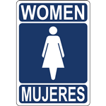 WOMEN MUJERES SIGN