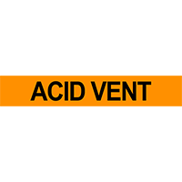 Acid Vent Pipe Marker