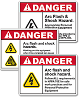 Arc Flash Signs & Labels