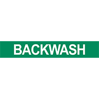 Backwash Pipe Marker