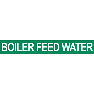 Boiler Feed Water Pipe Marker