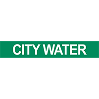 City Water Pipe Marker