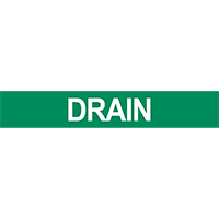 Drain Pipe Marker for Water