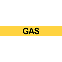 Gas Pipe Marker