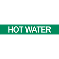 Hot Water Pipe Marker
