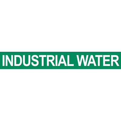 Industrial Water Pipe Marker
