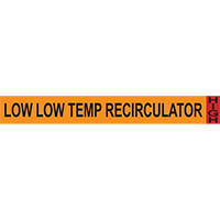 Low Low Temp Recirculator System Component Ammonia Marker