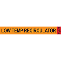 Low Temp Recirculator System Component Ammonia Marker