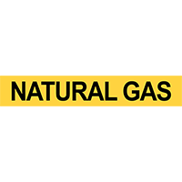 Natural Gas Pipe Marker