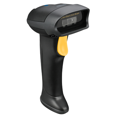 NuScan 2500TB Wireless Barcode Scanner