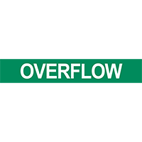 Overflow Pipe Marker for Water