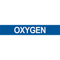 Oxygen Pipe Marker for Compressed Air