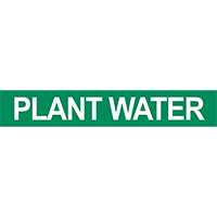 Plant Water Pipe Marker