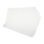 1-Way Plastic Sign Blanks (10 Pack)