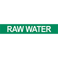 Raw Water Pipe Marker