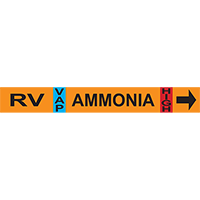 Relief Vent Ammonia Pipe Markers