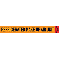 Refrigerated Make-Up Air Unit System Component Ammonia Marker