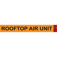 Rooftop Air Unit System Component Ammonia Marker