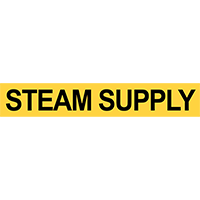 Pre-2007 ANSI Steam Supply Pipe Marker