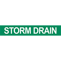 Storm Drain Pipe Marker