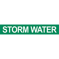Storm Water Pipe Marker