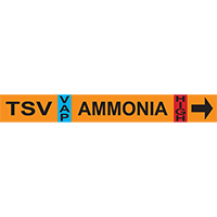 Thermosyphon Vent Ammonia Pipe Markers