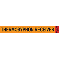 Thermosyphon Receiver System Component Ammonia Marker
