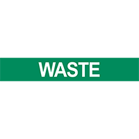 Waste Pipe Marker for Water