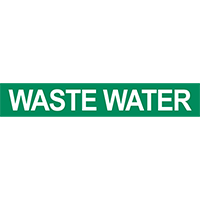 Waste Water Pipe Marker