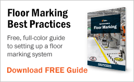 Free full-color guide to setting up a floor marking system