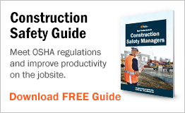Meet OSHA regulations and improve productivity on the construction site.