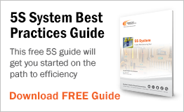 The free 5s guide will start you on the path to efficiency.