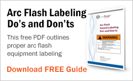 This free PDF outlines proper arc flash equipment labeling