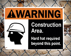 Are Your Safety Signs Seen?